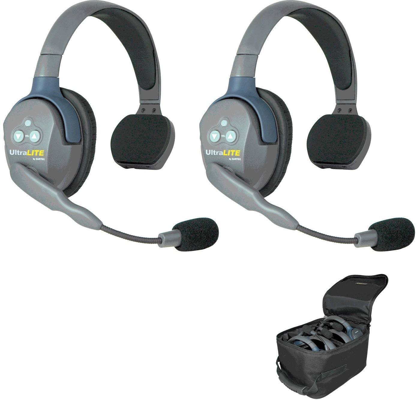 Eartec UL2S-HD Sistema Básico 2 personas