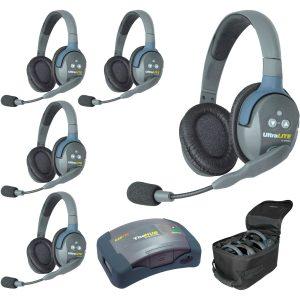 Eartec HUB5D-HD Sistema con HUB para 5 personas