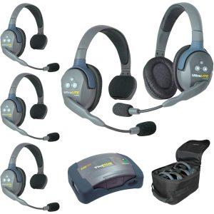 Eartec HUB541-HD Sistema con HUB para 5 personas