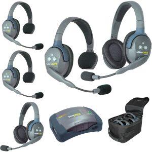 Eartec HUB532-HD Sistema con HUB para 5 personas