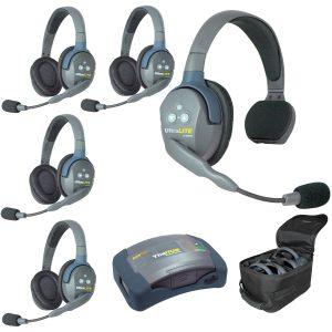 Eartec HUB514-HD Sistema con HUB para 5 personas